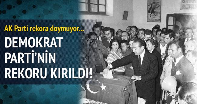 AK Parti, DP ve Menderes'in rekorunu kırdı