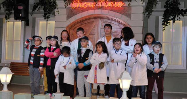 Down sendromlu çocukların mesleklerle buluşması