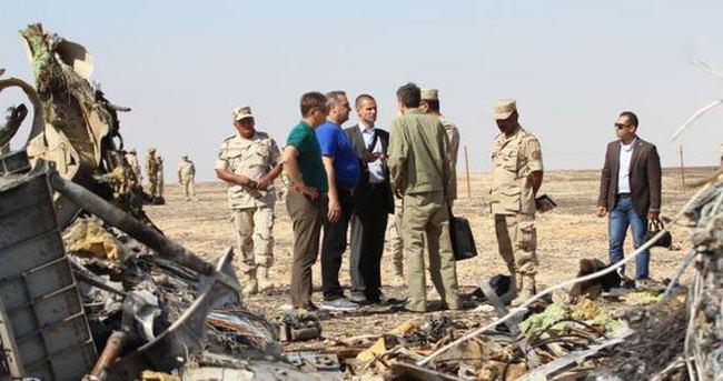 Mısır'da düşen Rus uçağında ölenlerin bir kısmı Petersburg'a gönderildi
