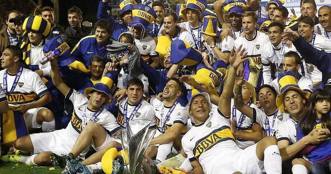 Şampiyon Boca Juniors