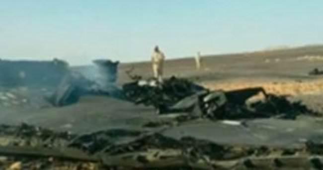 Rus yetkililer: Uçağı dış etken düşürmüş olabilir