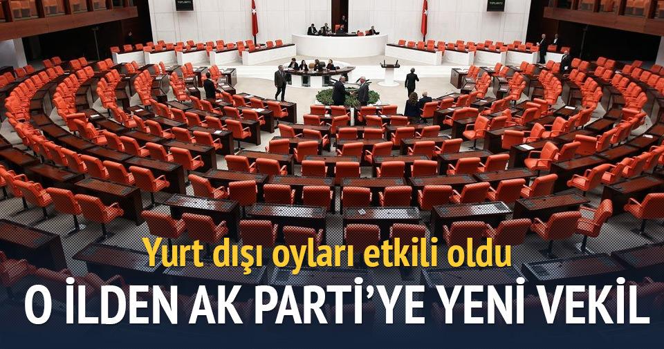 Yurt dışı oyları AK Parti'ye Manisa'da 1 milletvekili getirdi