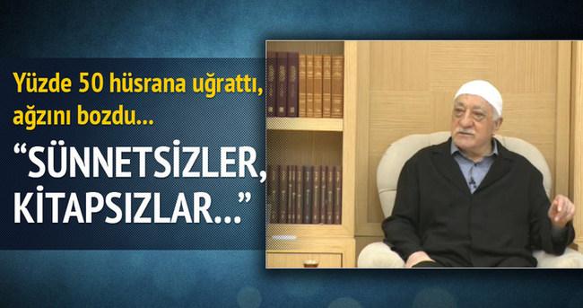 Fetullah Gülen yüzde 50'yi görünce ağzını bozdu!