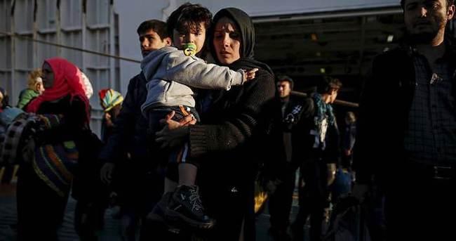 Avrupa'ya sığınmacı girişi ekimde rekor kırdı