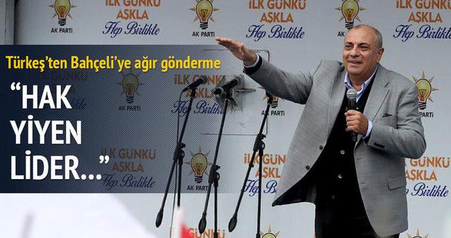 Türkeş'ten Bahçeli'ye çok sert mesaj