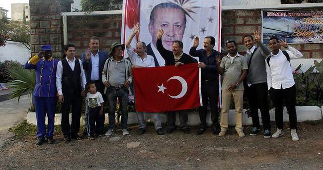 AK Parti'nin zaferi Etiyopya'da kutlandı