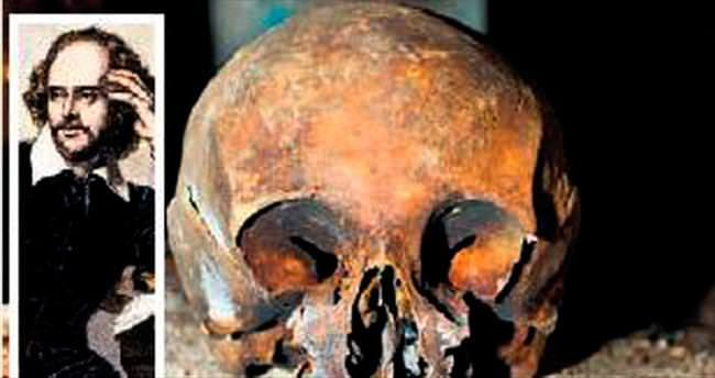 Shakespeare'in kafatası mahzende çıktı iddiası