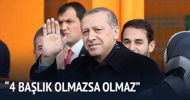 'Hep birlikte Türkiye olalım'