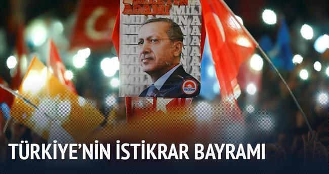 Türkiye'nin istikrar bayramı
