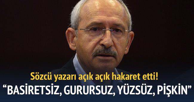 Sözcü yazarı Bekir Coşkun'dan Kılıçdaroğlu'na sert sözler