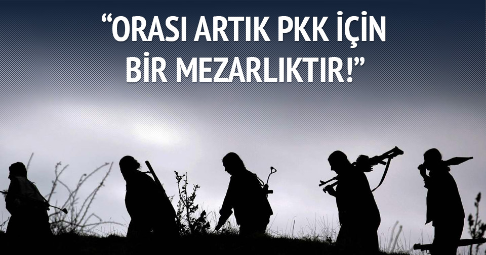 Artık PKK için İkiyaka Dağları bir mezarlıktır
