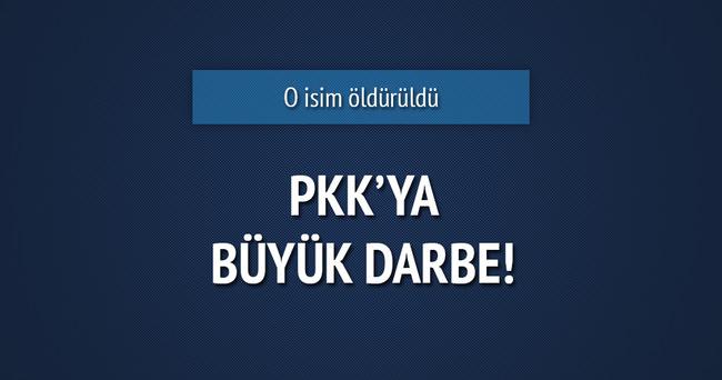 PKK'nın saha sorumlusu öldürüldü