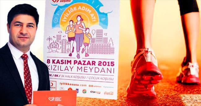 İyiliğin maratonu Kızılay'dan başlayacak