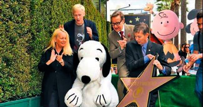 Snoopy'nin de yıldızı oldu