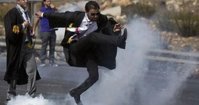 Filistinli avukatın isyanı fenomen oldu