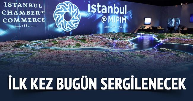 Yaşayan İstanbul maketi Türkiye'de ilk kez bugün sergilenecek