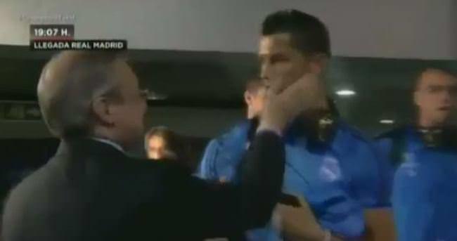 Ronaldo'ya tokatlı sorgulama