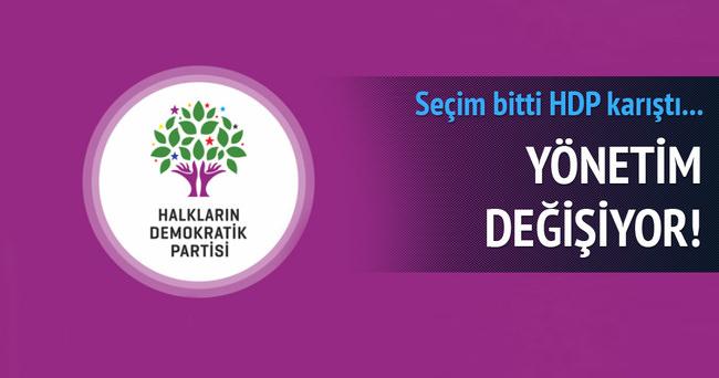 Seçim bitti HDP karıştı