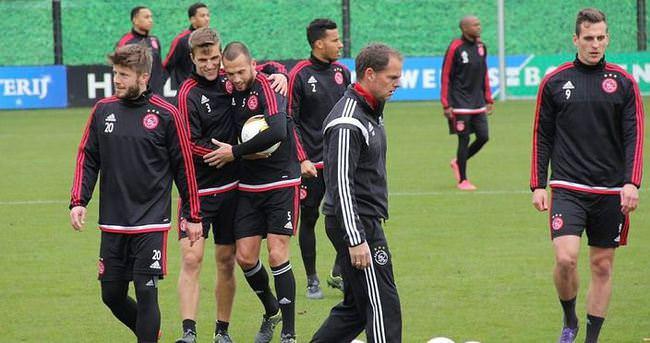 Ajax hazırlıklarını tamamladı