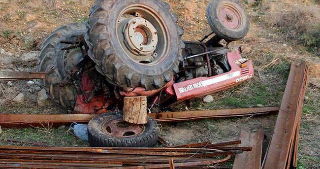 Savaştan kaçtı, traktör altında can verdi