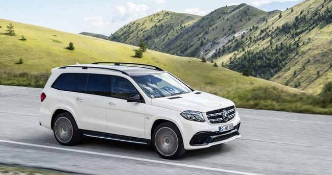 Mercedes-Benz GLS gün yüzüne çıktı