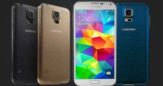 Samsung Galaxy S5 silah oldu