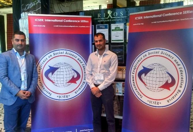 ADÜ Öğretim Elemanları Uluslararası Konferansta Bildiri Sundu