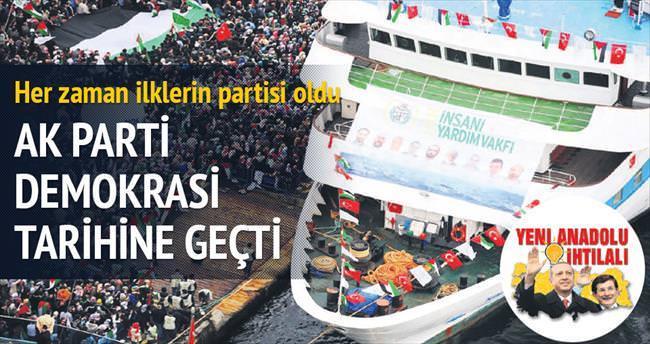 AK Parti hep halkın birinci tercihi oldu