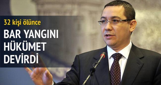 Bardaki yangın Romanya hükümetini istifa ettirdi