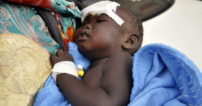 14 aylık bebek paramparça olan uçaktan sağ çıktı