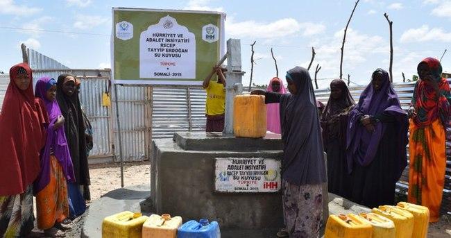 Cumhurbaşkanı'nın adı Somali'de su kuyusuna verildi