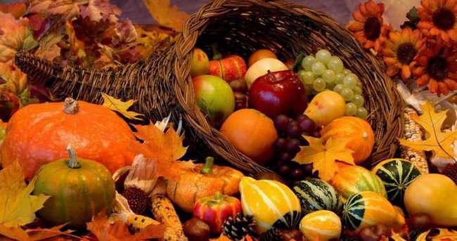 Sonbaharda beslenmeye dikkat!