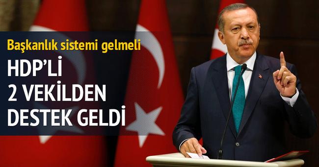 Dengir Mir Mehmet Fırat ve Celal Doğan'dan başkanlığa destek
