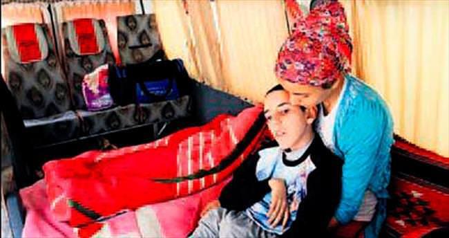 Engelli Osman için ambulans aranıyor