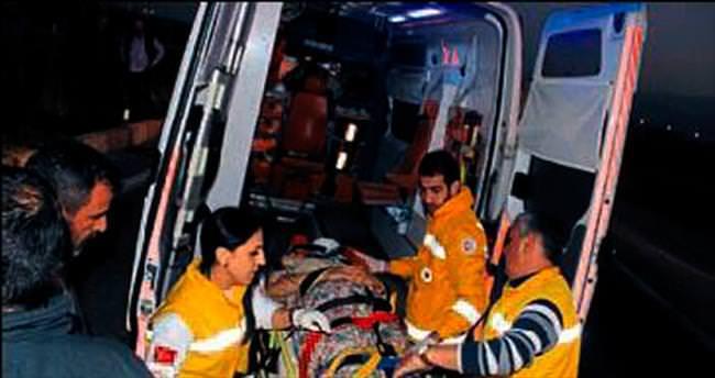 Salihli'de kaza: 1'i ağır 4 yaralı