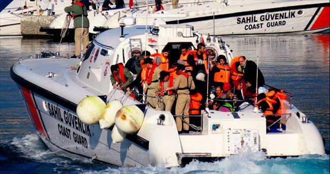Sahil Güvenlik ekipleri 363 kaçağı yakaladı