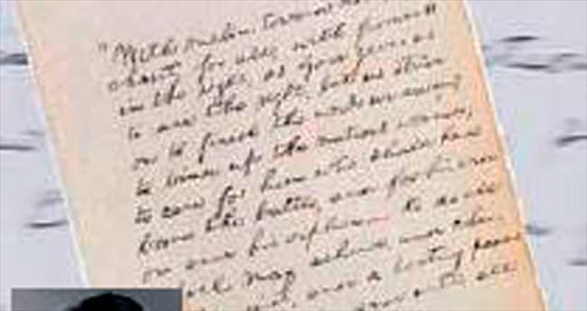 Lincoln'ün el yazısı 2.2 milyon dolara satıldı