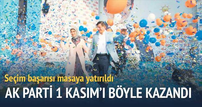 AK Parti böyle kazandı
