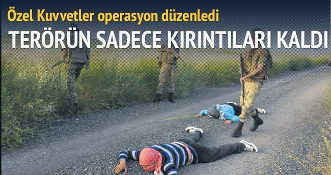 İkiyaka'da 2-3 kişilik PKK'lı gruplar kaldı