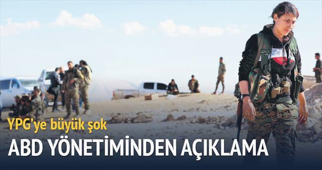 YPG'ye silah yok