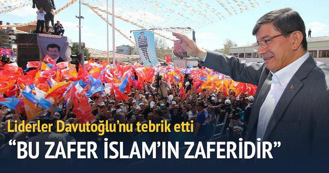 Bu zafer İslam âleminin zaferidir