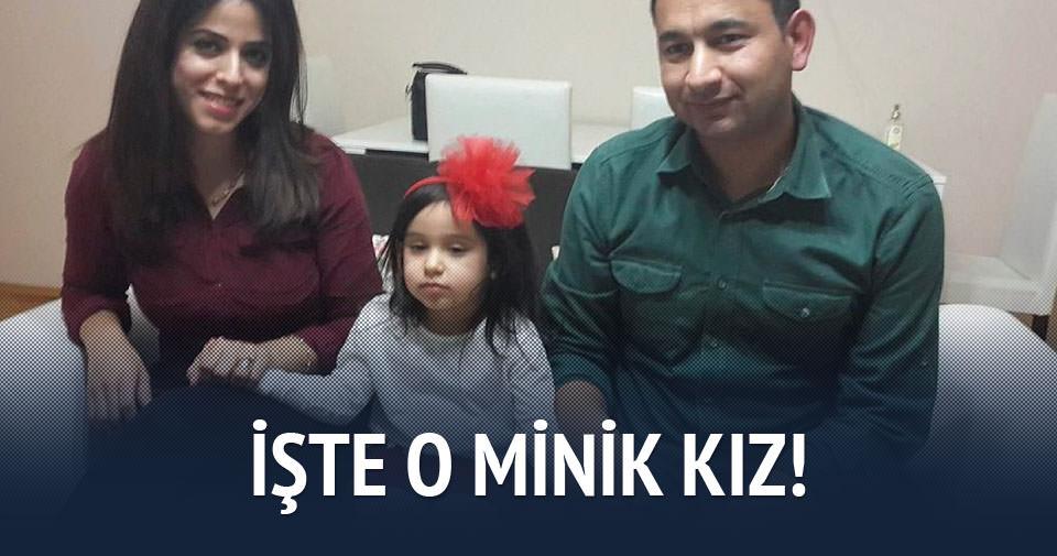 İşte babasına öğüt veren o küçük kız