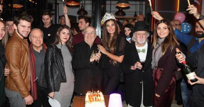 Ünlü organizatör Erkan Özerman'a 76. yıl kutlaması