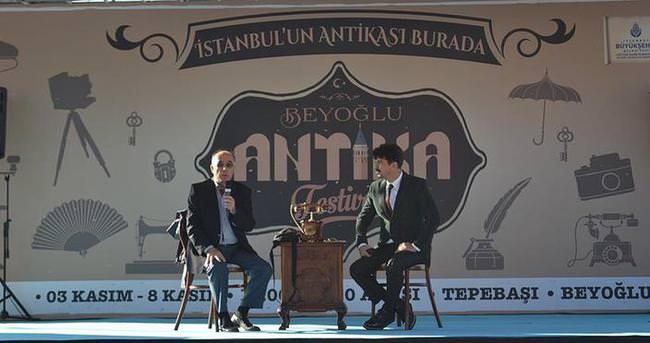 Çevik Antika Festivali'ne katıldı