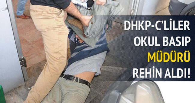 DHKP-C'liler okul müdürünü rehin aldı!