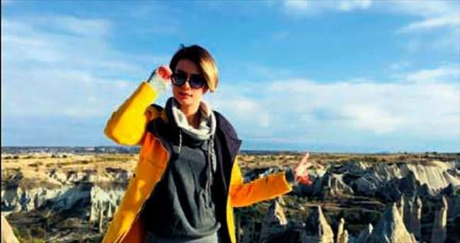 Kapadokya'ya aşık oldu