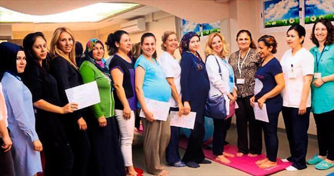 Anne adayları için Gebe Eğitim Merkezi