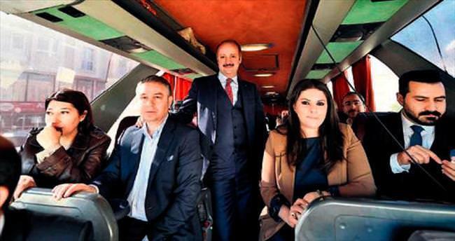 AK Partili vekillerden Mamaklılara teşekkür