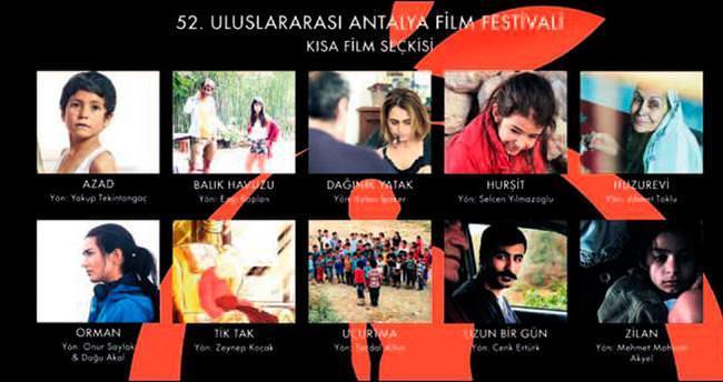 Antalya'da kısa filmler ve belgeseller belli oldu