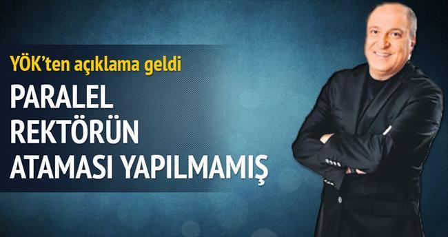 Ali Atıf Bir'in rektör ataması yapılmamış